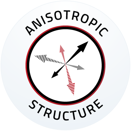 Anisotropic structure
